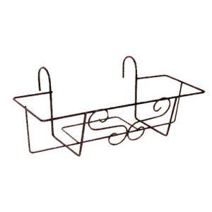 Jardifer 201N - Support de jardinière pour balcon 50 x 17 cm