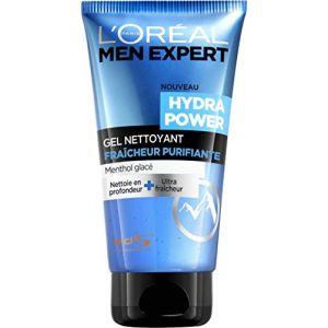 Image de L'Oréal Men Expert Hydra Power - Gel nettoyant fraîcheur purifiante