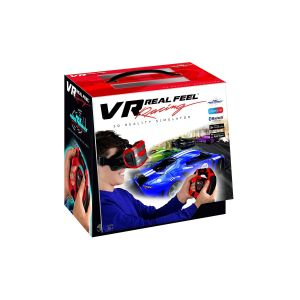 Casque de réalité virtuelle et volant VR Real Feel Racing Gaming Rouge