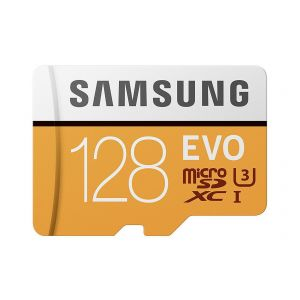 Samsung Carte Micro SD SDXC Evo 128Go 100Mo/s - Class 10