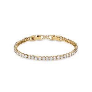 Swarovski Bracelet 5511544 - Bracelet métal or cristaux pavés sertis *Femme