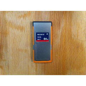 Sony SBS-64G1A - Carte mémoire SxS-1 Express Card 64 Go
