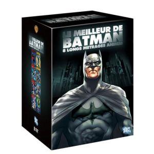 Coffret Le Meilleur de Batman - 8 longs métrages animés