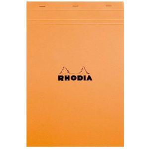 Rhodia Bloc de bureau 80 feuilles quadrillé 5x5 (210x318 mm)