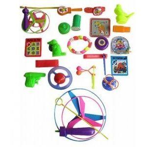 Kim'play Sachet de 100 jouets pour pêche à la ligne