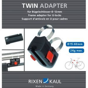 Klickfix Antivol pour cintre crochet Antivol anse pour vélo