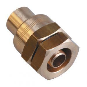 Gurtner Raccord polyéthylène à braser sur cuivre DN32 PEØ40 CUØ35