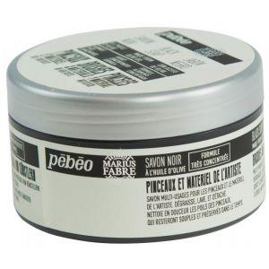 Pebeo Savon noir pour pinceaux et matériel 200g