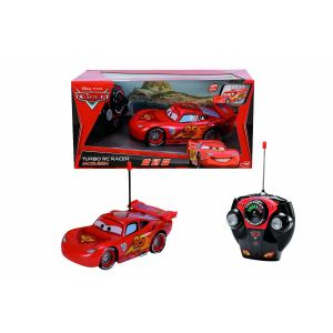 Dickie Toys Voiture radiocommandée Cars Flash McQueen 1/24