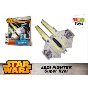IMC Toys Star Wars - Grand Jedi Starfighter à lancer