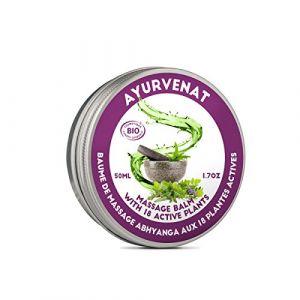 Oleanat Baume de massage Ayurvédique ABHYANGA aux 18 plantes - 100 ml
