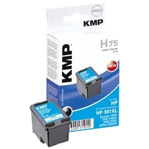 KMP H75 - Cartouche d'encre noire compatible HP 301XL