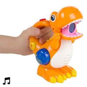 WinFun Dinosaure Enregistreur Vocal à Led