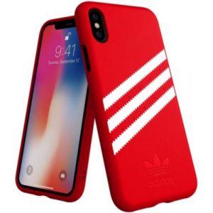 Adidas Coque Originals iPhone X/Xs Rouge / Blanc - SUEDE FW18
