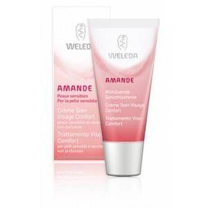 Weleda Crème soin visage confort BIO amande - 30ml