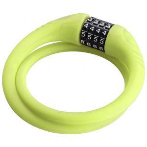 Red Cycling Products High Secure Silicon Cable Lock - Antivol vélo - vert Antivols à combinaison
