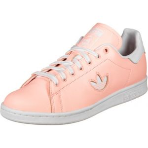 Adidas Stan Smith W, Chaussures de Gymnastique Femme, FTWR White/Clear Orange, 38 2/3 EU
