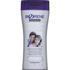Eugène Perma Biorene Argent shampooing déjaunissant cheveux gris ou blancs