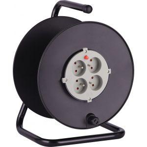 Electraline Enrouleur bricolage vide avec protection thermique -