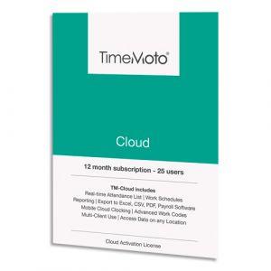 Safescan Logiciel TM Cloud jusqu'à 50 utilisateurs supplémentaires + 1 an offert