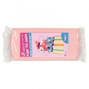 Dekora Pâte à sucre Rose 500g