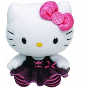 Ty Beanie Babies : Hello Kitty Punk 28 cm
