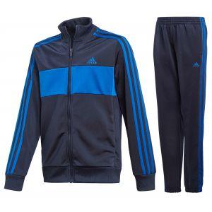 Adidas YB TS TIBERIO Survêtement Garçon, Top:Legend Ink/Team Royal Blue Bottom:Legend Ink F17/Team Royal Blue, FR : XL (Taille Fabricant : 1314)