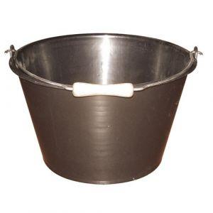 Eda Plastiques Seau à veau noir - 15,5L
