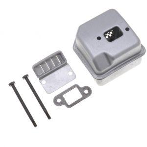 Jardiaffaires Pot déchappement adaptable pour tronçonneuse Stihl 017, 018, MS170 et MS180