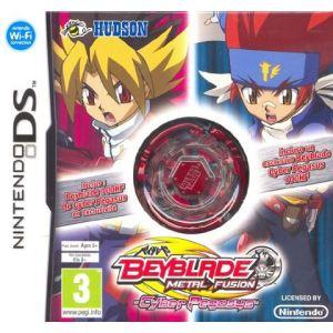 Beyblade : Metal Fusion - Cyber Pegasus + Toupie sur NDS
