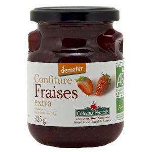 Côteaux nantais Confiture fraises extra Bio et Demeter 325g