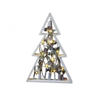 sapin en bois 10 mini led 50 cm comparer avec. Black Bedroom Furniture Sets. Home Design Ideas
