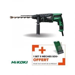 Hikoki POWER TOOLS FRANCE SAS - Perforateur-burineur SDS-plus DH26PBZ 830W