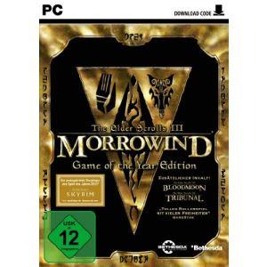 The Elder Scrolls III : Morrowind Edition jeu de l'année - Le jeu + les extensions Bloodmoon et Tribunal [PC]