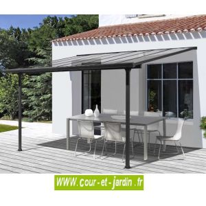Habrita Toit pour terrasse aluminium 8,94 m²