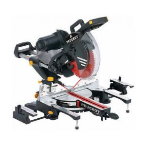 Peugeot Scie à onglet radiale double inclinaison D. 305 mm 1600 W 230 V ENERGYSAW-305STB2 - 132055