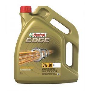Castrol Huile moteur EDGE Titanium 5W30 LL Essence et Diesel 5 L