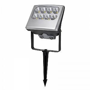 Lutec Applique Murale-Plafonnier-Sol Negara 8x3W LED - Gris anthracite - utnegara