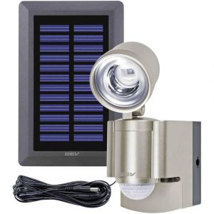 Gev Projecteur solaire LED 3 LPL, détecteur mouvement
