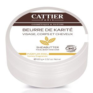Cattier Beurre de karité miel