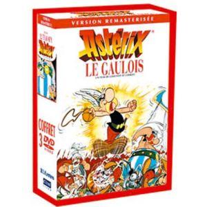 Astérix le Gaulois + Astérix et Cléopâtre + Les 12 travaux d'Astérix