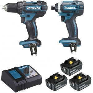 Makita Ensemble de 2 machines (DDF482 + DTD152) DLX2127TJ1