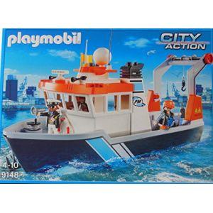 Playmobil 9148 City Action - Bateau remorqueur