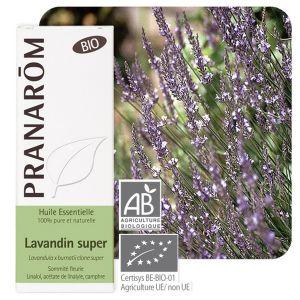 Pranarôm Huile essentielle Bio de lavandin super, 10 ml
