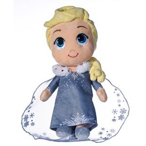 Peluche Elsa Reine des Neiges 25,4 cm Disney
