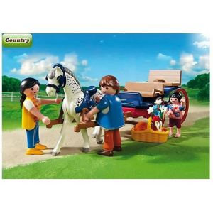Playmobil 5226 Country - Calèche avec famille