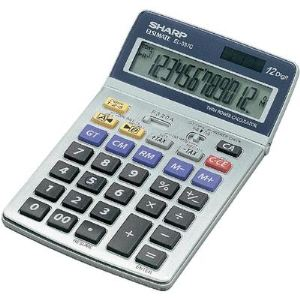 Sharp EL-337C - Calculatrice de bureau