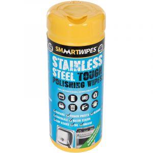 Smaart Lingettes ultrarésistantes spéciales polissage acier inoxydable - 40