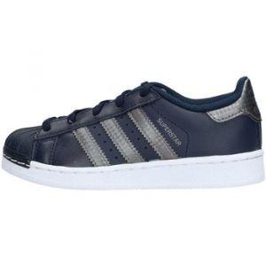 Adidas Superstar C Mixte Enfant, Bleu Nocmét/Maruni, 28 EU