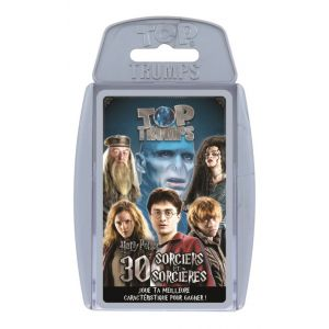Winning Moves Jeu de cartes Top Trumps Harry Potter